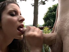 Attractive Anita Bellini gets double teamed in hot threesome