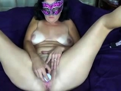 Amateur, Mamie, Masturbation, Solo, Jouets, Webcam