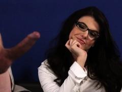Cfnm domina in glasses