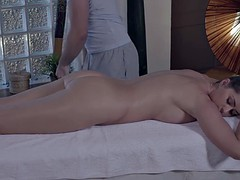 Relaxxxed - Big Bosomed Russian Babe Kendra Star Gets Massaged And Fucked