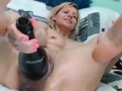 Amateur, Blonde, Fétiche, Pénétrer avec le poing, Masturbation, Mère que j'aimerais baiser, Solo, Webcam