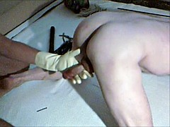 master whipe punish slave cock and pussy