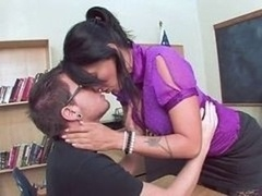 Hot Aged Teacher Lure Her Student
