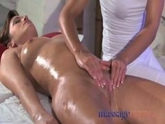 Massage Rooms Butter bean Rub For Her Orgasm With Masseuse