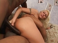 Anal, Negro, Doble penetracion, Interracial