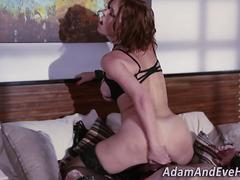 Busty domina gets pounded