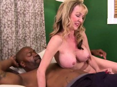 Big Black Cock for Busty Mature