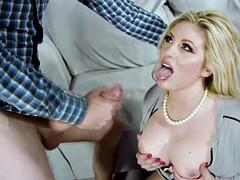Horny big tits blonde milf ashley down caught masturbating