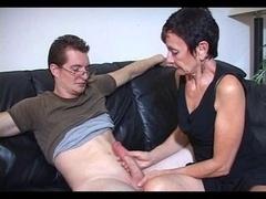 Mum Marie makes his large love tool cum