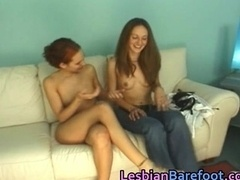Lez Cuties Casting on the Couch part5