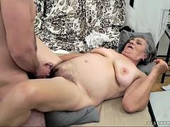 randy kata is a horny grandmother ready for a fat boner