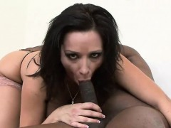 Curvy Vannah rides hard on a BBC