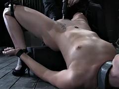 sasha grey's intense bdsm scene