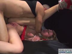 Rough gagging slap and bondage prostate milking xxx Poor Callie Calypso
