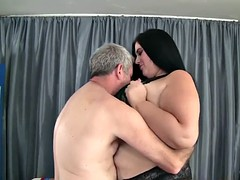 Pretty BBW Becki Butterfly gets her pussy fucked g