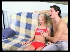 Skinny Small Blond Girl Backdoor