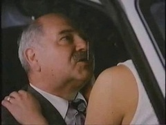 Grown-up Man With Hooker In Car