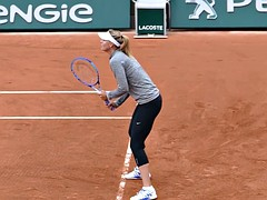 Maria Sharapova slow motion 201(