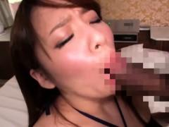 Doggystyle sweet Japanese boobs masturbating