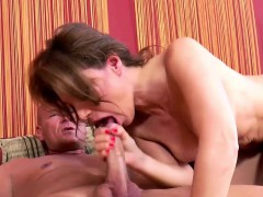 Sylvia is hirsute slit gets pounded hard