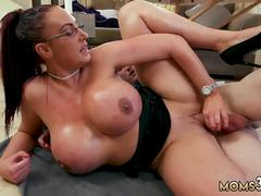 Milf virtual reality blowjob and mom seduces duddys daughter in law Emma Butt is all