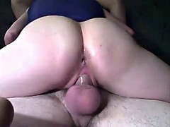 Amazing Hot creampie riding best friend