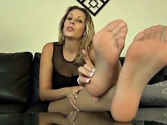 Nylon feet JOI