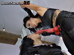 Sissy training with Femdom Mistress Tangent