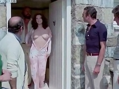 Edwige Fenech and also Lia Tanzi naked from The Virgo The Taurus