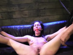 Step mom and boss's daughter sex slaves vibrator bondage