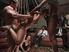 Bondage domination sadisme masochisme, Humiliation, Public, Punition, Esclave, Attachée