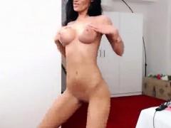 Amateur, Brunette brune, Softcore, Solo, Webcam
