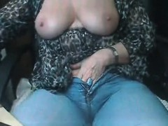 Woman Masturbating
