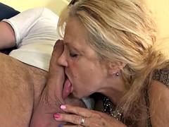 Blonde, Mamie, Lingerie, Mère que j'aimerais baiser