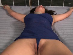 Hot hotty is tearing up from her hardcore torture