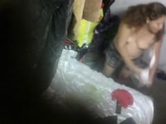 Voyeur in my family Hidden cam in my house