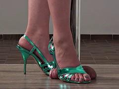 Fetiche de pies, Perforación