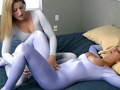 Erotischer film, Elasthan, Strümpfe, Spielzeuge