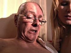 Old Young Porn Grandpa likes to fuck young girls and lick pu