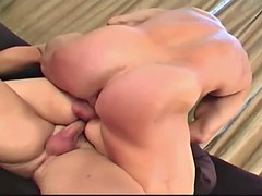 Teen slut gets double penetration action