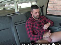 Milf taxi driver fucks dude wild