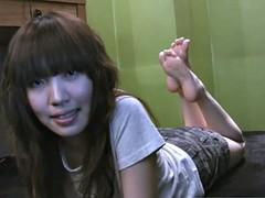 cherry asian feet - olive