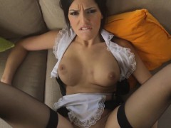 Maid nailed by black dick