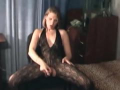 My masturbation in my pantyhose