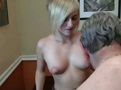 Grandpa Gets Lucky With Young And Horny Grand