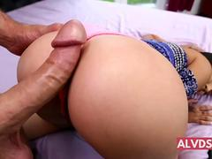 Big booty babes fucked from behind in high def