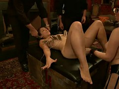 a hot bondage vid with very sexy and submissive hotties
