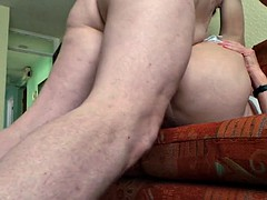 danielle (82 TV) and rob - deep anal sex (Part 2)