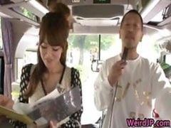 Insane oriental gals have hot bus tour 1 part3
