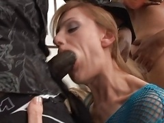 Anal, Bisexuelle, Noire, Couple, Interracial, Lingerie, Masturbation, Jouets
